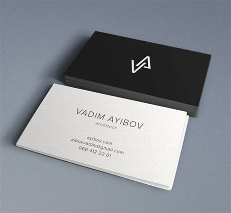 architectural business cards 33 slick business card designs for architects business