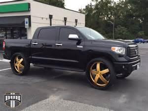 Toyota Tundra On 28 Inch Rims Dub Forged X84 Baller Wheels Socal Custom Wheels
