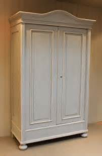 large continental painted pine wardrobe 244295