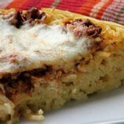 Spaghetti Pie With Cottage Cheese by 1000 Images About Spaghetti Pie Recipes On