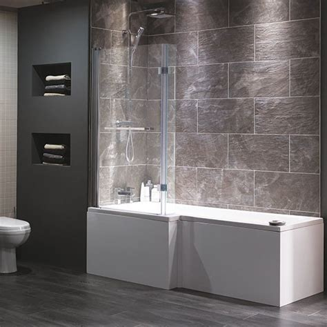 Bathroom Showers Uk Cambridge Shower Bath From Plumb Shower Baths Housetohome Co Uk