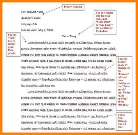 Exle Of A Mla Essay by 7 Mla Citation Format Exle Sephora Resume