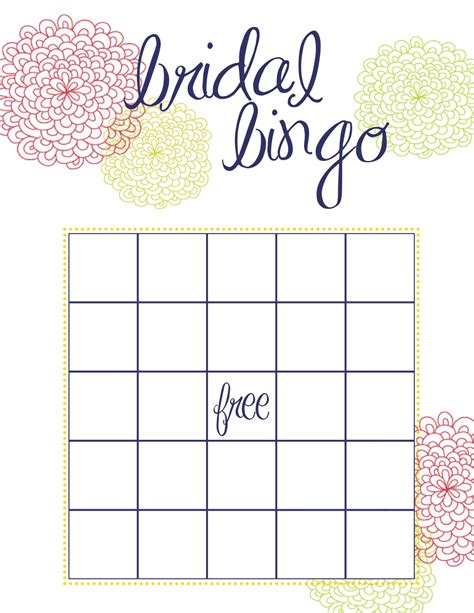 How To Throw The Best Bridal Shower Pretty Happy Love Wedding Blog Essense Designs Wedding Bingo Template