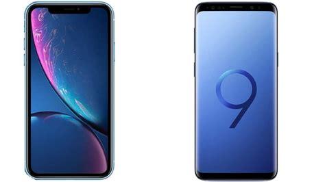 iphone xr vs samsung galaxy s9 updated