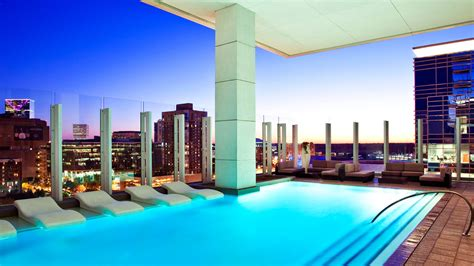 W Hotel Atlanta Rooftop Bar Downtown Atlanta Hotels W Atlanta Downtown Features