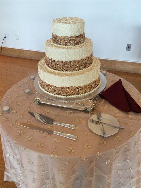 Wedding cake  burnt almond tort by #Prantls at #Phipps