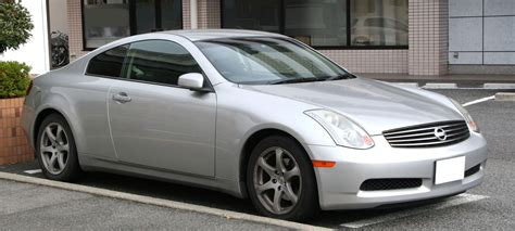 nissan coupe 2005 file 2003 2005 nissan skyline coupe 5at jpg wikimedia