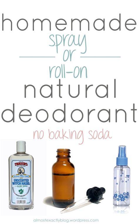 diy setting spray coconut chemical free spray or roll on deodorant no