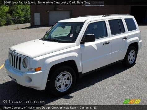 white jeep patriot 2008 2008 jeep patriot white 200 interior and exterior images