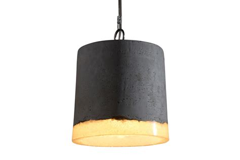 concrete pendant light concrete pendant light large by renate vos