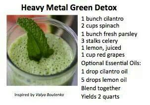 Menstruation During Heavy Metal Detox by Heavy Metal Detox And Heavy Metal Detox On