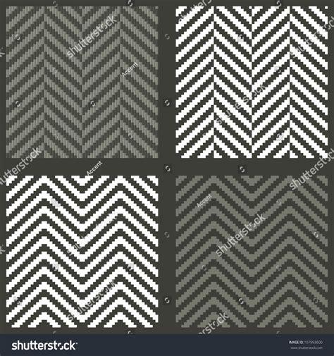 herringbone pattern en francais 4 seamless swatches with lambdoidal herringbone patterns