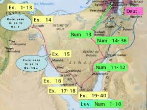 Book Of Numbers Outline by Summary Of Exodus Leviticus Numbers And Deuteronomy