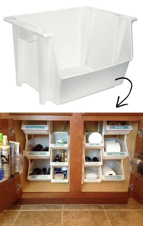 organizing bathroom ideas best 25 organize plastic containers ideas on pinterest