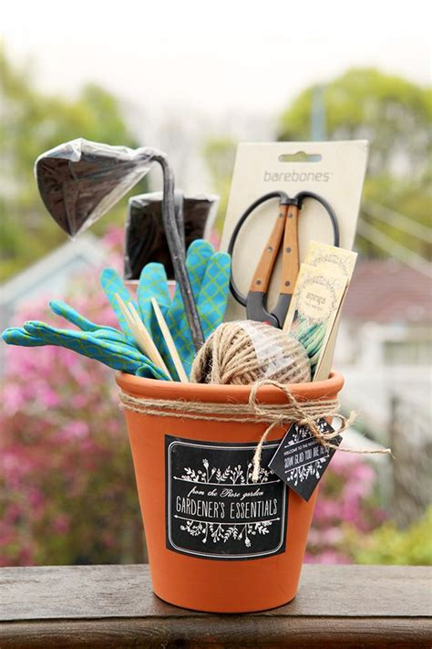 gardening gift set diy mothers day gifts homemade