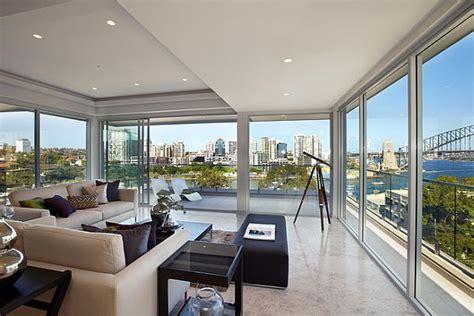 the living room sydney stunning australian inner city penthouses
