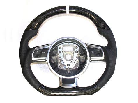 audi steering wheels custom audi carbon sport steering wheels teamspeed