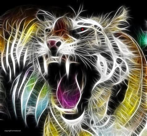 imagenes en 3d animales animales fractales im 225 genes taringa