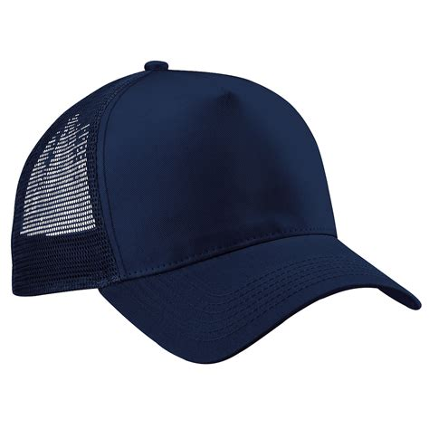 Trucker Hat Trucker 1 beechfield mens half mesh adjustable trucker cap baseball hat ebay