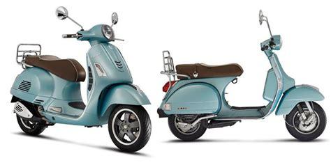 vespa modifikasi warna biru vespa biru muda edisi 70 tahun kompas