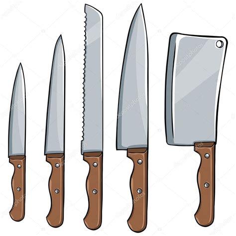 set of kitchen knives 向量组的厨房刀 图库矢量图像 169 nikiteev 27867159