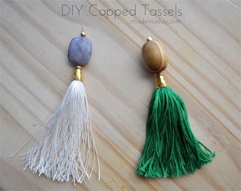 beaded tassel tutorial diy beaded tassel necklaces tassels cap and tassel necklace