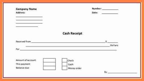 4 cash receiving slip format salary slip