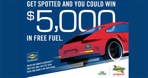 sunoco free fuel 5000 sweepstakes 2017 - Free Sweepstakes 2017