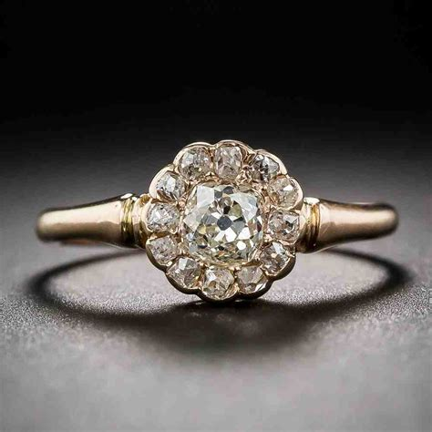 deco gold engagement rings gold deco engagement rings wedding and bridal