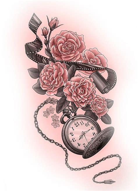 часы тату эскизы фото галерея идеи татуировок 10gb