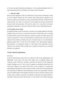 sle study methodology analysis and conclusion chapters