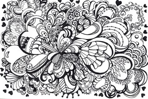 Zentangle Lornachristensenillustration Zentangle Coloring Page
