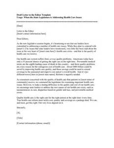 cover letter to the editor persuasive letter to the editor sle cover letter
