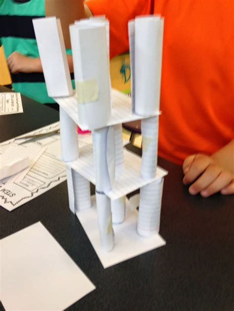 what to make out of index cards stem index card tower challenge