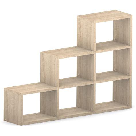 oak modular wide 3 step 1738l x 1116h x 328d mastershelf