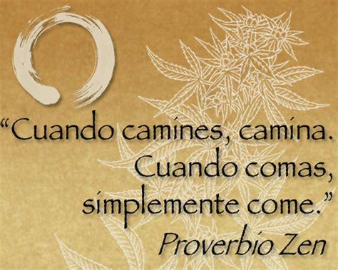 frases de pensamientos practiquen su actitud zen marihuana su efecto zen blog sensi seeds