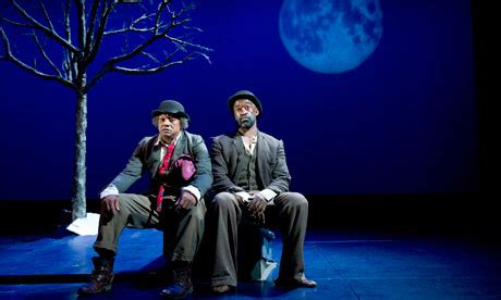 Absurd Theatre Waiting For Godot Essay by Waiting For Godot Angus Thongs And Even More Snogging Review Stage The Guardian