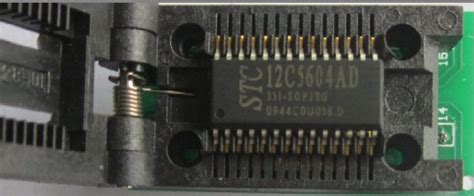 Aop605 P605 sop28 to dip28 with cover multi adapter programmer debug