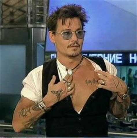 johnny depp lily rose tattoo johnny depp johnny depp