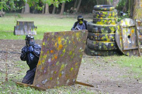 outdoor paintball wanderfreunde hainsacker