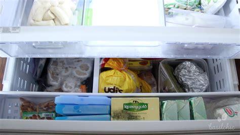 freezer organization bottom drawer