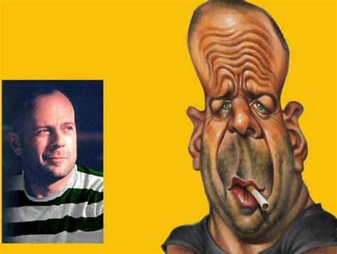 Hs Bruce Willis Vts caricatures page 2