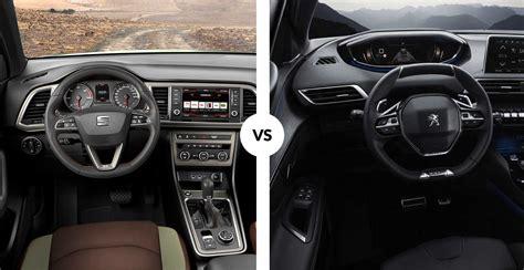 Comparativa Seat Ateca Vs Peugeot 3008 Carnovo