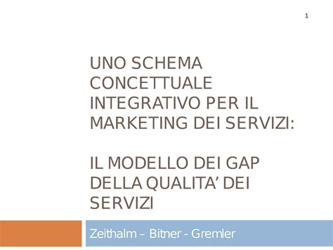 dispensa marketing marketing dei servizi dispense