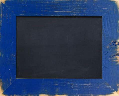 tafel mit holzrahmen tafel mit holzrahmen blau 5cm schwarz