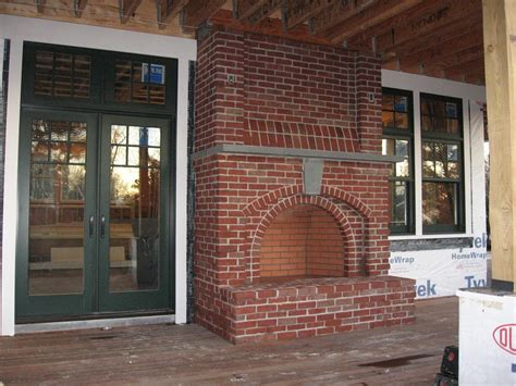 fireplace mantel cover southern living screened porch interior interior accent ideas using brick fireplace