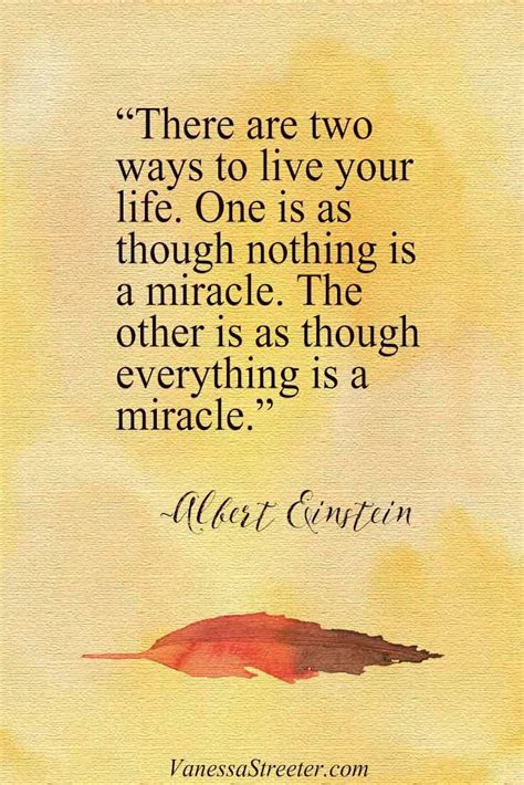 Everything Is A Miracle Quote