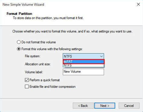 format exfat windows 8 1 how to format hard drive to exfat in windows 7 8 10