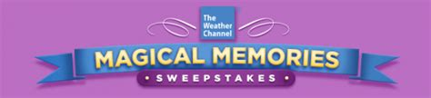 Weather Channel Giveaway - the weather channel magical memories sweepstakes win a trip to disneyland or disney