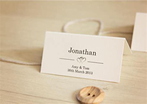 ebay co uk wedding place cards 10 personalised wedding place card table names invitation